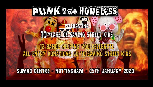 Punk for homeless poster